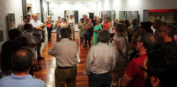 Con la pintura de Pedro Lezcano, el hijo del poeta, el Ayuntamiento abre el ciclo Artesaute.0