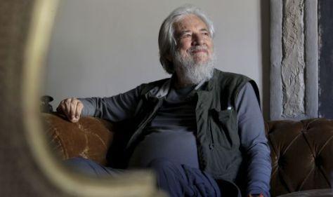 Claudio Naranjo, durante su estancia en Madrid. / JAIME VILLANUEVA