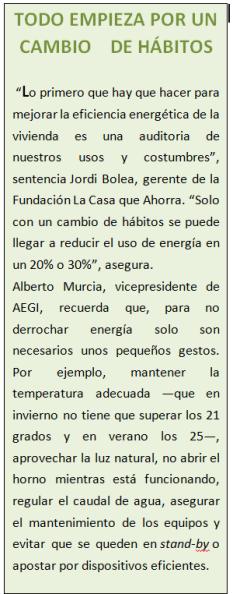 HABITOS EFICIENCIA ENERGETICA