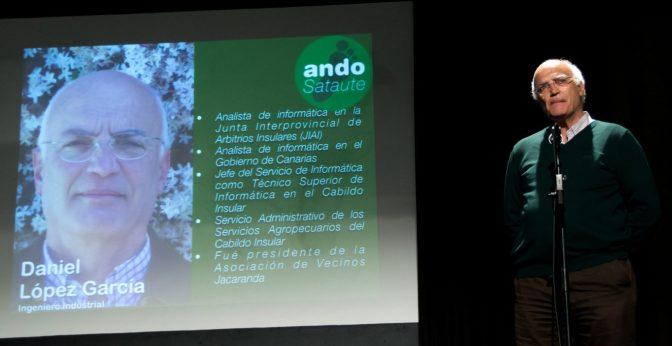 Daniel López García, el nuevo concejal de ANDO Sataute, viene bregado de experiencia profesional y compromiso social