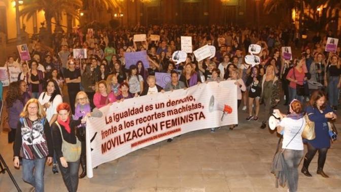 Todo preparado para la huelga feminista en Canarias