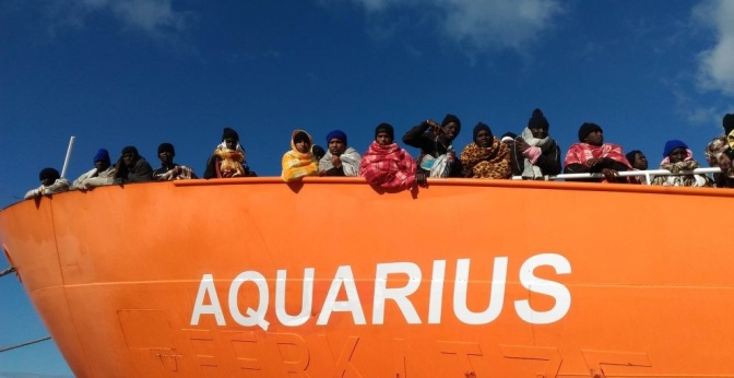Santa Brígida se ofrece para acoger refugiados del Aquarius